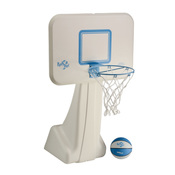 DunnRite Pool Sport Junior Stainless Steel Portable Regulation Pool Basketball ... - Item B950