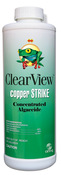 ClearView Copper Strike Algaecide 32 oz - Item CVLCSQT12