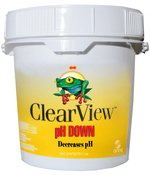 ClearView pH Down 7 lb - Item CVSB007
