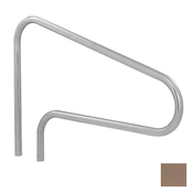 S.R. Smith 3-Bend Safety Hand and Stair Rail with Sealed Steel - Taupe - Item DMS-100A-VT
