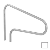 S.R. Smith 3-Bend Safety Hand and Stair Rail with Sealed Steel - Pearl White - Item DMS-100A-VW