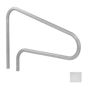 S.R. Smith 3-Bend Safety Hand and Stair Rail - Polished Steel - Item DMS-100A