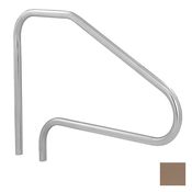 S.R. Smith 4-Bend Safety Hand and Stair Rail with Sealed Steel - Taupe - Item DMS-101A-VT