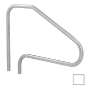 S.R. Smith 4-Bend Safety Hand and Stair Rail with Sealed Steel - Pearl White - Item DMS-101A-VW