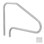 S.R. Smith 4-Bend Safety Hand and Stair Rail - Polished Steel - Item DMS-101A