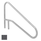 S.R. Smith Sloped Braced Safety Hand and Stair Rail - Rock Gray - Item DMS-102A-RG