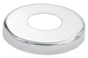 "S.R. Smith Vinyl White Round Escutcheon - 1.90"" O.D. - Item EP-100F-VW"