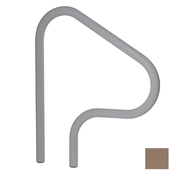 S.R. Smith Figure 4 Hand and Stair Rail Powder-Coated - Taupe - Item F4H-102-TP