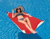 Floating Luxuries Kai Pool Float - Logo Red - Item FL22266