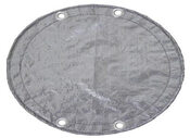 18 x 34 Oval Above Ground Winter Pool Cover 15 Year Silver/Black - Item GPC-70-7114