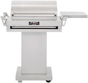 "TEC G Sport 36"" Infrared Natural Gas Grill with Stainless Steel Pedestal & Side ... - Item GSRNTFR-GSPED-GSFRSS"
