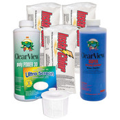 Swimming Pool Chemical Start-Up Kit Bronze - 15,000 Gallons - Item HPKIT1