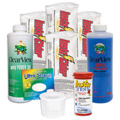 Swimming Pool Chemical Start-Up Kit Silver - 20,000 Gallons - Item HPKIT2