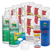 Swimming Pool Chemical Start-Up Kit Platinum - 30,000 Gallons - Item HPKIT3