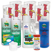 Swimming Pool Chemical Start-Up Kit Platinum - 30,000 Gallons - Item HPKIT4