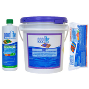 Poolife Kit - 20.6 lbs NST Tablets - 12 lb TurboShock - 2 Quarts Defend+ - Item HTHMULTI1