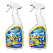 MiracleMist Instant Mold and Mildew Stain Remover - Bleach-Based - Pack of 2 - Item MMIC-4-2