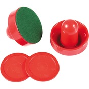 Air Hockey 3 inch Strikers and 2.5 inch Puck Set - Item NG1008