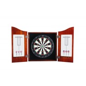 Centerpoint Solid Wood Dartboard & Cabinet Set  - Item NG1041CH