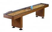 Challenger 12 ft. Shuffleboard with Walnut Finish - Item NG1212