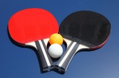 Single Star 2 Player Racket and Ball Set - Item NG2341P