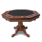 Walnut Poker Table Only - Item NG2366T