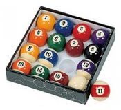 Pool Table Regulation Billiard Ball Set - Item NG2545