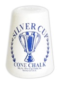 Silver Cup Cone Talc Chalk - Item NG2547