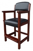 Cambridge Antique Walnut Spectator Chair - Item NG2556W
