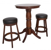 Oxford 3 Piece Hardwood Pub Table Set - Item NG2715W