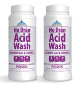 United Chemicals No Dran Acid Wash 2 lb - 2 Pack - Item NODRAN-C12-2