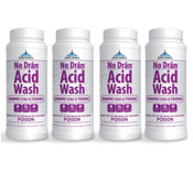 United Chemicals No Dran Acid Wash 2 lb - 4 Pack - Item NODRAN-C12-4