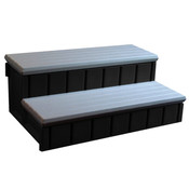 Spa Step with Storage Gray - Item NP5653