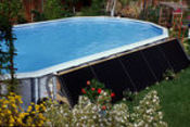 Solar Bear Deluxe Above Ground Solar Heating System - Item NS725