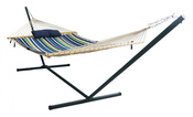 Island Retreat 12 ft. Hammock Set with Blue Cover - Item NU3105