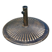 Cast Iron Umbrella Base for Market Umbrellas - 50 lbs. - Item NU5405A