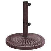 Weather Resistant Resin Umbrella Base - 66 lbs. - Item NU5406
