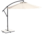 Santiago 10 ft. Octagon Cantilever Olefin Umbrella - Champagne - Item NU6400CH