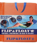 Flip & Float Pool Float - Orange - Item OPF101-04