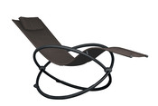 Vivere Orbital Single Lounger - Sienna - Item ORBL1-SA
