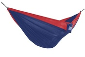 Vivere Parachute Double Hammock - Navy Red - Item PAR25