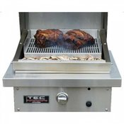 "TEC Patio FR Infrared 18"" Smoker and Roaster Plus Chip Corral - Item PFRSMKR"