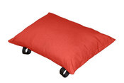 Vivere Throw Pillow - Cherry Red - Item PILL20-CR