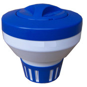 Floating Bromine/Chlorine Dispenser for Pools - 3 inch Tabs - Item PS690