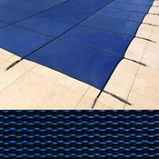 14 x 28 Rectangle Royal Mesh Blue Safety Pool Cover 15 Year - Item PT-IG-000002