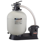 "Hayward Pro Series 18"" Sand Filter with 1 HP Matrix Pump - Item S180T92S"