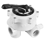 "Hayward Vari-Flo 2"" Multi-Port Side-Mount Valve with Plugs for Sand Filters - Item SP0715ALL"