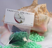 Spazazz Tropical Fruit Spa Beads 5 oz Fiji Apple - Item SZ140