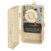 Intermatic T104P3 Mechanical Time Switch with Plastic Case 208-277V - Item T104P3