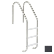 "S.R. Smith 24"" Economy 3-Step Vinyl Ladder - Rock Gray w/ Escutcheons - Item VLLS-103E-RG"